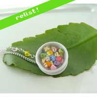 Lucky Charms Breakfast Cereal Necklace by CatrinasToybox on Etsy