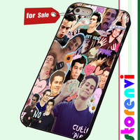 Collage Dylan O'brien custom case for smartphone case