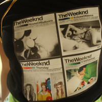 The Weeknd Collage Graphic Shirt by TheVintageDump on Etsy