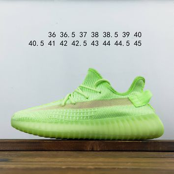 Kuyou Fa1972 Adidas Yeezy 350 Boost V2 Fluorescent Green
