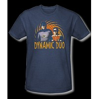 Classic TV Batman and Robin Dynamic Duo Vintage Tee Shirt