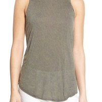 Treasure&Bond High Neck Racerback Tank | Nordstrom