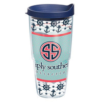 "Simply Southern ""Anchors & Whales"" Tervis"