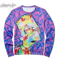 2017 new cute women/men cartoon hoodies despicable me print 3d sweatshirt simpsons winter minions coat clothes Harajuku top