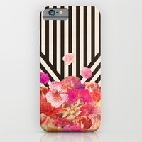 Floraline iPhone & iPod Case by Bianca Green