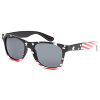 Blue Crown Usa Sunglasses Red/White/Blue One Size For Men 26082094801