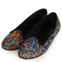 TRUDI Tapestry Slippers - New In This Week - New In - Topshop