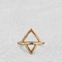 AEO Triangle Ring , Gold