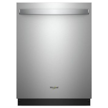 Whirlpool Top Control Built-In Tall Tub Dishwasher in Fingerprint Resistant Stainless Steel with Stainless Steel Tub-WDT750SAHZ - The Home Depot