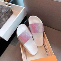 Louis Vuitton LV Brilliant series slippers