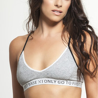 I Only Go to First Base Sports Bra by FIRST BASE - SPORT BRAS & LIGHT SUPPORT