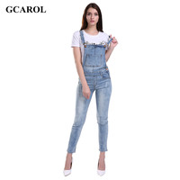 Women Ripped Hole Jumpsuits Ladies Sexy Slim Casual Romper Plus Siz 42 Pencil Overalls For 4 season
