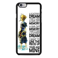 A Scattered Dream Kingdom Hearts iPhone 6/6s Case