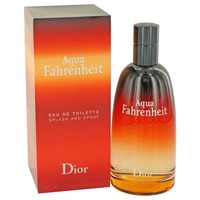 Aqua Fahrenheit By Christian Dior Eau De Toilette Spray 4.2 Oz