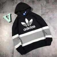 ADIDAS Woman Men Fashion Hoodie Top Sweater Pullover2