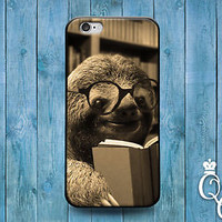 Funny Baby Sloth Phone Case Cute Animal Cover iPod iPhone 4 4s 5 5s 5c 6 Plus +