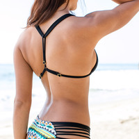 Issa de Mar - Sunset Reversible Bottom / Black/Tribal