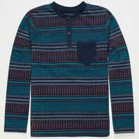 Valor Guard Boys Henley Blue  In Sizes