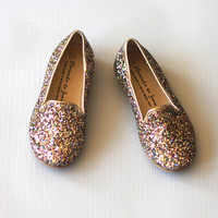 Manuela de Juan Sparkle Chachou Slip On Shoes