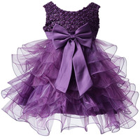 Baby lovely Flower Girls Dresses For Weddings Ball Gown First Communion Dresses For Little Girls Alternative Measures - Brides & Bridesmaids - Wedding, Bridal, Prom, Formal Gown