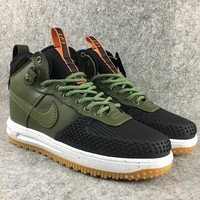 "Nike Lunar Force 1  ""Army Green""Sneakers"