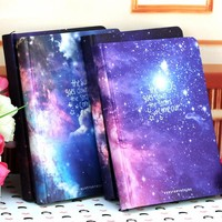 Hot Sale Galaxy Science Fiction Picture Cover Series 13*18cm Handcover Creative Dairy Journal Notebook Sketchbook