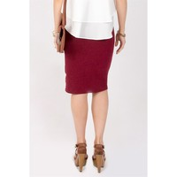 Perfect Pencil Midi Skirt