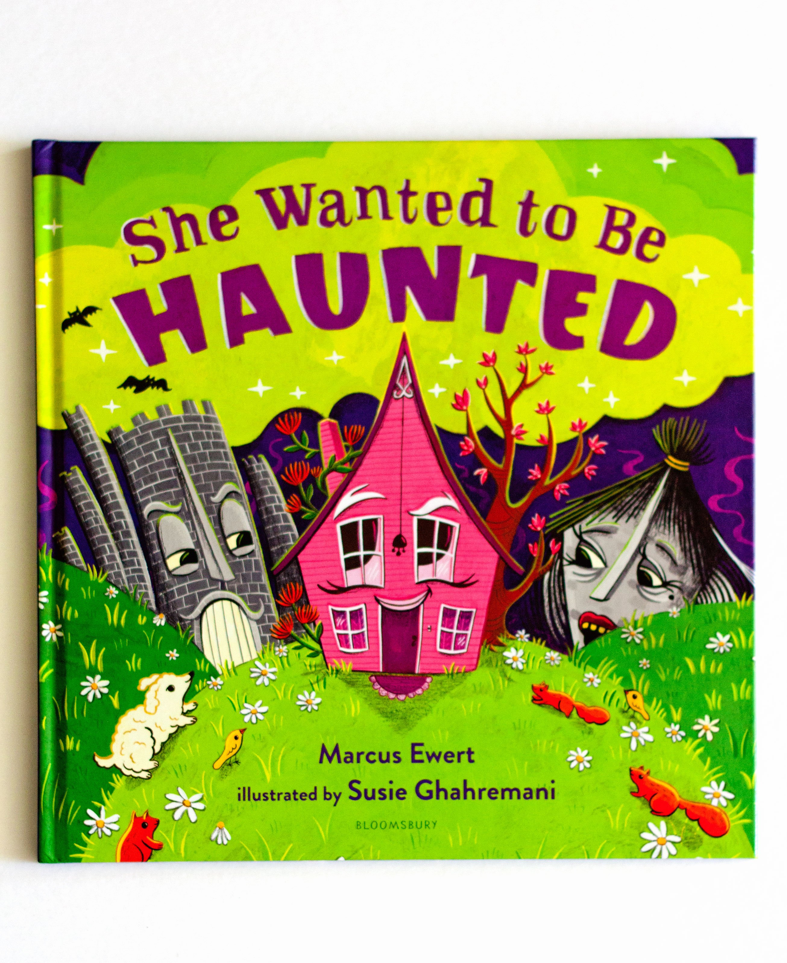Image of She Wanted to Be Haunted – Self acceptance picture book