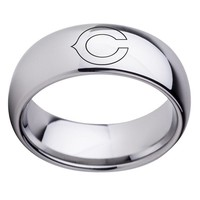 Fans Sprot Ring Chicago Bears Logo Titanium Steel Champion Rings for men Jewelry