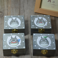 Cats Wooden Music Vintage Creative Gifts Birthday Box [6282857734]