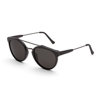 Super by Retrosuperfuture Giaguaro Sunglasses, Black