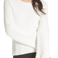 Joie Lauraly Cutout Back Sweater | Nordstrom