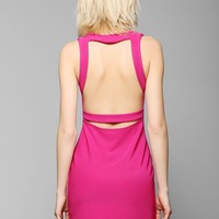 Sparkle & Fade Banded Open-Back Bodycon Dress - Urban Outfitters