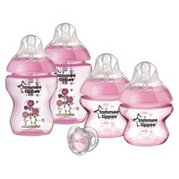 Tommee Tippee Closer To Nature Girl Deco Starter Set - Pink