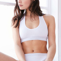 Out From Under Markie Seamless Ribbed Halter Bra - Urban Outfitters