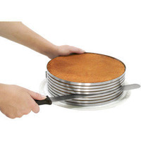 Piece of Cake Layer Slicing Kit | create perfect cake layers at Kitchen Krafts