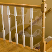 Clear 15' Banister Shield