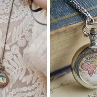 Pocket Watch Necklaces - 5 Styles