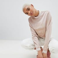 adidas Originals Fashion League Cropped Sweatshirt With Three Stripe Trim at asos.com