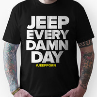 Jeep Every Damn Day Unisex T-Shirt