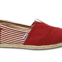 UNIVERSITY RED ROPE SOLE WOMEN'S CLASSICS