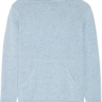 The Elder Statesman - Mélange cashmere hooded sweater