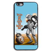 BB8 and Snow Storm Trooper   Phone Case for iPhone and Samsung Series,More Phone Models For Choice