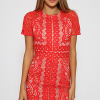 Tijana Dress - Red