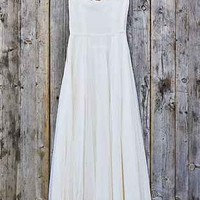 Vintage Lace Sweetheart Dress - Urban Outfitters