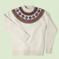 Fred Perry - Fred Perry Fair Isle Knit Sweater