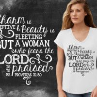 Proverbs Woman Graphic T-shirt