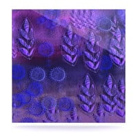 """Marianna Tankelevich """"Summer Night"""" Purple Lavender Luxe Square Panel"""