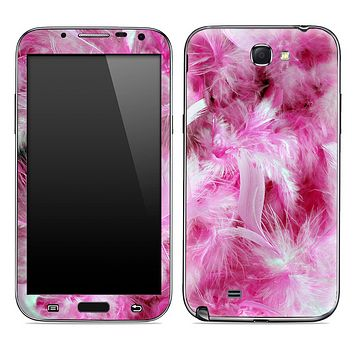 Fuzzy Pink Skin for the Samsung Galaxy Note 1 or 2