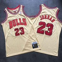 1995-96  Mitchell & Ness Chicago Bulls #23 Jordan Swingman Basketball Jersey